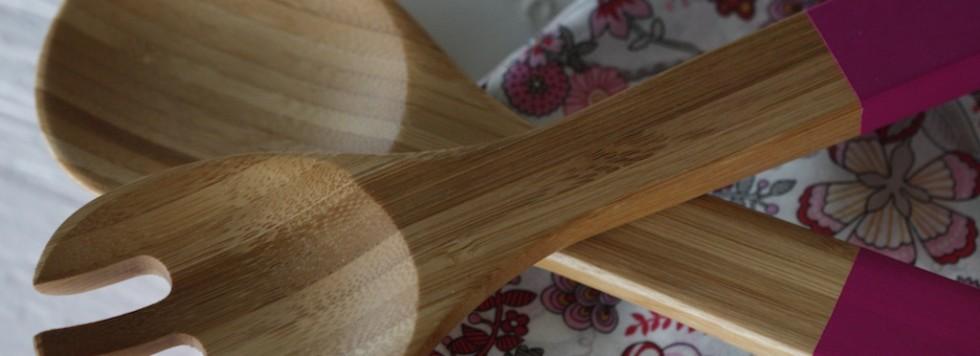 Serving spoons Core Bamboo giveaway /Sorteo de cucharas de madera Core Bamboo