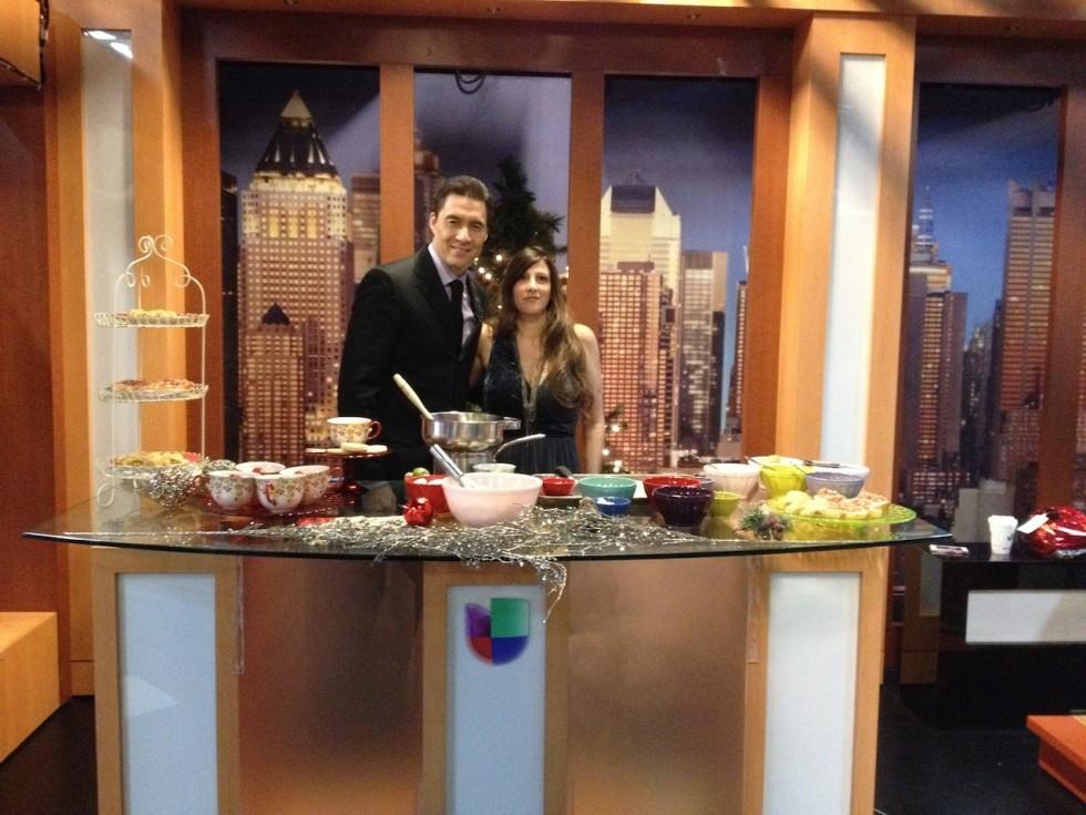 """Mi segmento de Navidad en Al Despertar Univision 41/My Tv Segment on """"Al Despertar"""" Univision Channel 41"""
