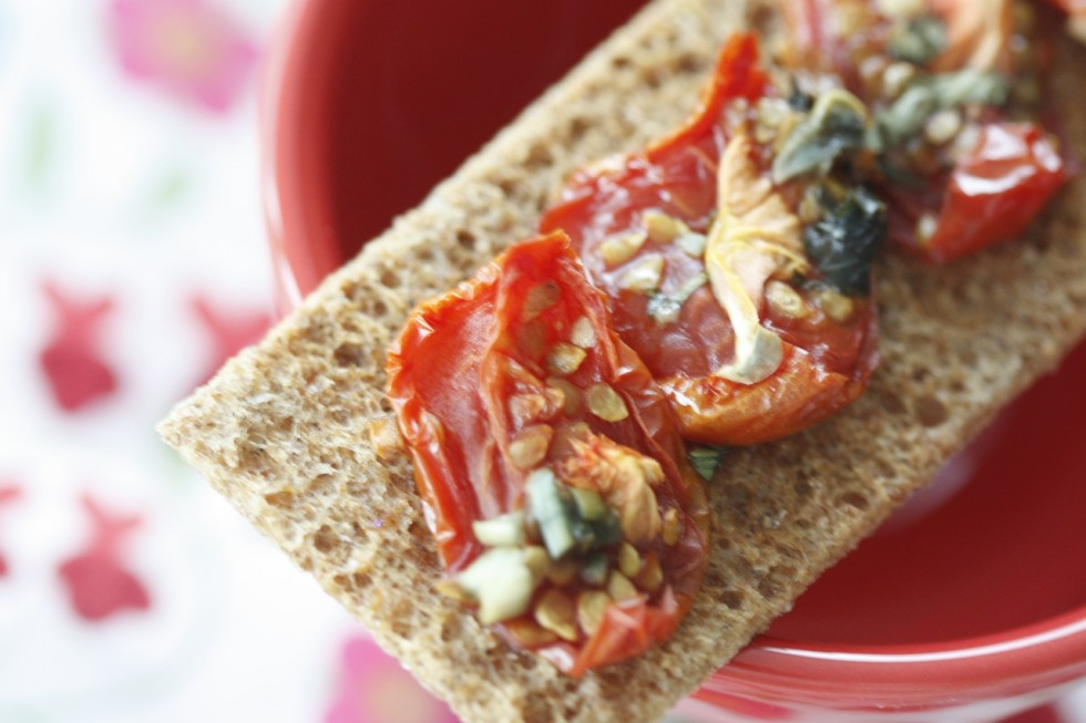 Dried Tomatoes with Fresh Herbs