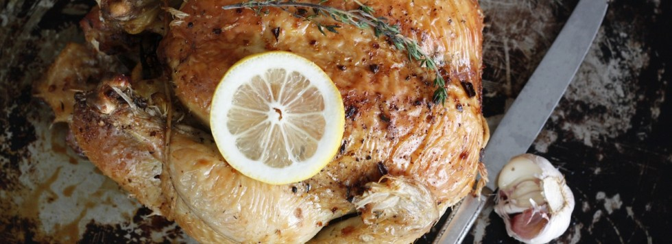 Easy Lemon and Herb Roasted Chicken