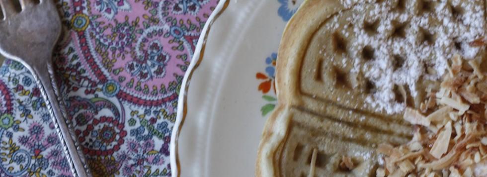 Deliciosos y Saludables Waffles / Healthy and Delicious Waffles Recipe